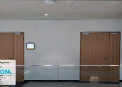 שילוט דיגיטלי לחדרי ישיבות