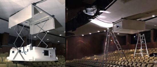 חדש: מעלית תקרה עם מעטה אטום לרעש משולב